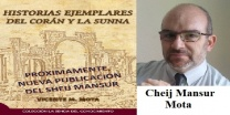 Entrevista al Cheij Mansur Mota en relación a su nuevo libro