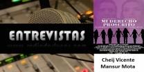 Entrevista al Cheij Vicente Mansur Mota