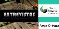 Entrevista al Srta. Aroa Ortega en representación de la asociación Audir para el dialogo religioso