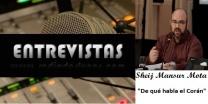 Entrevista al Sheij Vicente Mansur Mota (