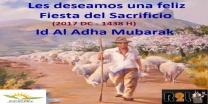 Feliz Fiesta del Sacrificio 2017 - Id Al Adha Mubarak 1438